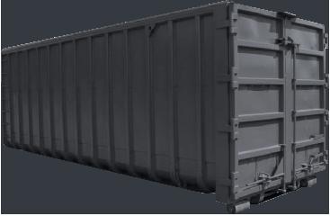 Photo du container 10m³